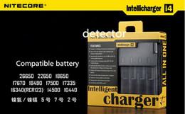Wholesale Hot Nitecore I4 i4 Nitecore battery charger nitecore intellicharge i4 battery E Cigarette in Rechargerable Intellicharger US AU EU UK
