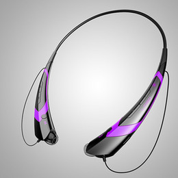 Wholesale HBS HB Electronical Apt x Sports Stereo Bluetooth Wireless Headset Earphone Headphones for Iphone s c LG samsung in stock