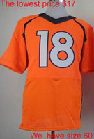 Wholesale Peyton Manning elite game American football jerseys mens women youth kids jerseys mix order Name Logo Stitched AAAAA quality lowest price