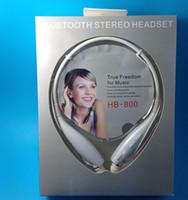 Wholesale Bluetooth Stereo headset Wireless earphone sport headphone For LG iPhone Samsung HB