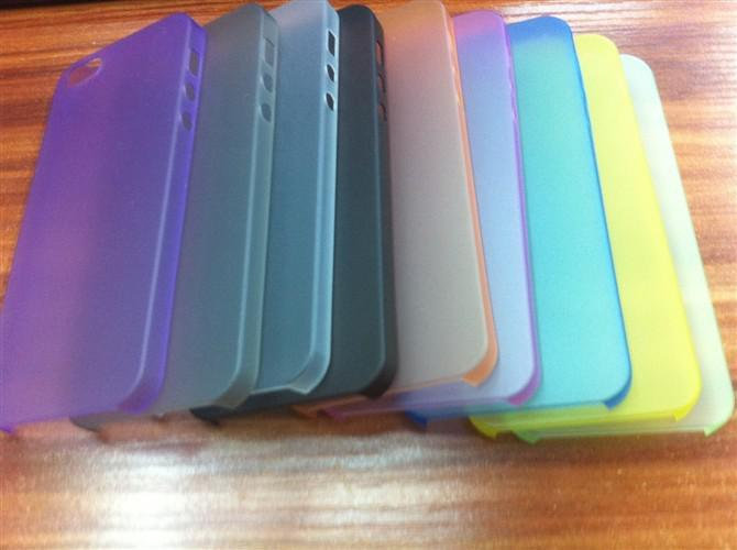 Buy 0.3mm Thin Slim Matte Frosted Transparent Clear Soft PP Cover Case Skin iPhone 5 5S 5C 4 4S 6 6G Samsung Galaxy S5 S4 S3 Note 3 2 cheap