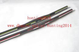 2014 MTB handlebar carbon fibre riser flat handlebars 31.8*600 620 640 660 680 700mm
