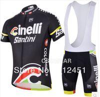santini - NEW Cinelli Santini Team cycling jersey cycling clothing cycling wear short bib suit Cinelli D