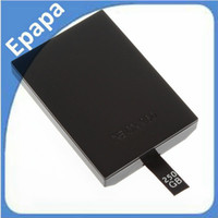 Wholesale 250GB Large Capacity Slim Internal HDD Enclosure Hard Drive Disk Disc for XBOX Games media player