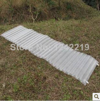 Wholesale Ultra light g UL Outdoor Inflatable Cushion Sleeping Bag Pad Outdoor Beach Camping Mat Moisture proof Pad With Free Pump