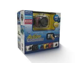 hot selling HD 720P Waterproof HD Action Camera Sport Outdoor Camcorder DVR Mini Camera from kakacola