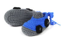 Wholesale 10 PAIRS new children s Cartoon baby shoes Hand woven baby soft bottom toddler shoes knitting wool prewalker baby shose