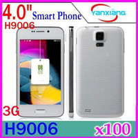 "Android Feiteng 4.0 DHL 100PCS S5 Mini Dual Core MTK6572 HTM H9006 4"" Android 4.2 Smartphone phone Air Gesture 2GB 3G WCDMA GSM Quad band Unlocked YX-PH-43"