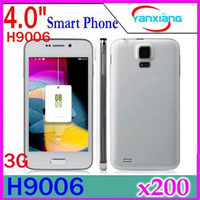 Wholesale DHL HTM Mini S5 H9006 Inch MTK6572 dual core G Cell Phone Android dual SIM WCDMA amp GSM Quad Band Mobile phone YX PH