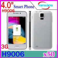 Wholesale DHL Dual Core MTK6572 Mini S5 I9600 HTM H9006 inch Smart Phone Android Air Gesture GB Rom G WCDMA GSM Unlocked YX PH
