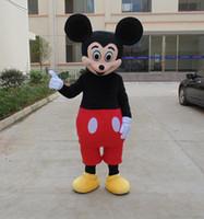 Nuevos trajes de la mascota de la historieta apoyos muñeca traje de la mascota de mickey Tamaño del adulto del traje historieta de Mickey Mouse