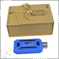 Wholesale Huge Vapor ELVT Electronic Cigarette E LVT Mod With led flashlight waterproof Ecig E LVT fit for EGO Atomizer Hot sale