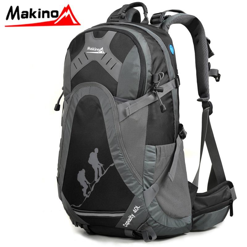 Makino Outdoor Backpack Men 40l Mountaineering Bag Hiking Travel ...