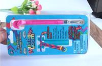 Wholesale Mini rainbow loom Upgrade kit RBL Hook with metal tip DIY mini Rainbow Loom Hook with retail box loom bands Tool Upgrade Kit pc