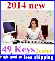 Wholesale Brand NEW Portable Keys Roll Up Electronic Flexible Foldable Keyboard Piano Soft Hand Music Organ
