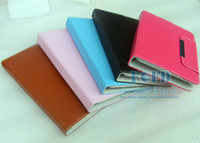 Wholesale 7 inch inch Multi color Leather Case Flip Cover Universal Adjustable Case for Q88 Tablet PC MID