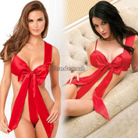 Sexy Costumes Animal Polyeter Sexy Lingerie Spring Summer Sexy And The Home Fashion Clothing Lovely Pajamas Sexy Costume Sleepwear Red #6 SV000385