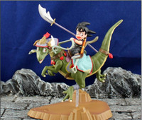 Wholesale 2014 New Hot Anime Cartoon Dragon Ball Sun Goku Dragon Riding PVC Action Figure Collection Model Toy