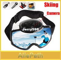 skis video - 720P HD Ski Sport Goggles Glasses With MP Video Camera Skiing Sunglasses for Men Women