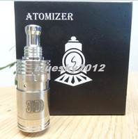Replaceable Metal rebuildable atomizer 2014 newest 3D Atomizer panzer mod hades mod ecig cloutank 3D atomizers rebuildable huge vapor 3D dripper dry herb atomizer silver pins
