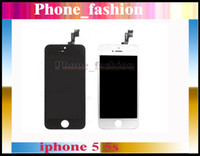 For Apple iPhone LCD Screen Panels  Black White LCD Display & Touch Screen Digitizer Full Assembly for iPhone 5S Replacement Repair Parts