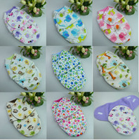 Wholesale Newborn baby sleeping bags cashmere Fabric winter receiving blanket toddler envelope designs wrap
