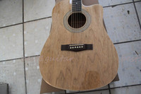 Wholesale Custom acoustic guitar quot cutaway guitar New guitar