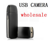 hidden camera with voice recorder - A8 Spy usb camera mini hidden voice recorder and high resolution video with Motion Detection USB dvr hot selling from coolcity2012