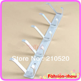 Wholesale Home Clothes Racks Space Aluminum Coat Hanger With Hooks For Bedroom Washroom