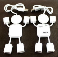 Wholesale Doll shape High Speed splitter usb hub Ports USB HUB For Laptop PC Factory Price