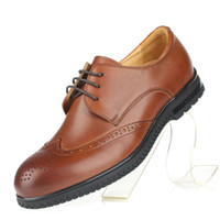 Men Oxfords Spring and Fall In 2 Color 2014 New Fashion 100% Genuine Leather Formal Brand British Oxford Men's Dress Rubber Sneakers Shoes For Men GLM106