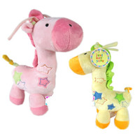 Wholesale baby music toys bell music box bed hung Baby Rattles amp Mobiles dino giraffe toy