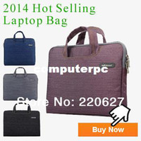 Wholesale Wholesale2014 New Denim Laptop Sleeve Bag Case Carry Handle Bag For Inch Notebook