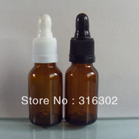 Wholesale DHL Free shippping ml glass dropper bottle essential oil bottle with tamper evident dropper essential oil container