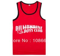 Cotton Men Animal Wholesale-Billionaire boys club Tank Tops High quality hot sale top selling Vest Sleeveless 100% cotton Free Shipping Size S-XXXL