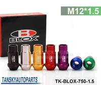 aluminum lug - Blox Forged Aluminum Lug Nuts P L mm Default color is Red TK BLOX