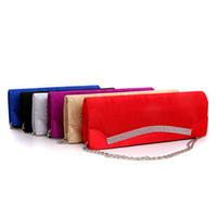 Wholesale New Arrival Fashion Evening Bags Hot Sale Handbag for Lady One Shouler Handbag Silk Fabrics