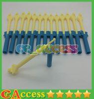 Pins & Needles   500pcs lot Fashion Rainbow Loom Mini Loom + Hook Retail For Rubber Bands Bracelet Knitting