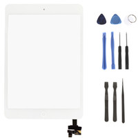 Wholesale White Touch Screen Digitizer Assembly Replacement with Tools for iPad Mini