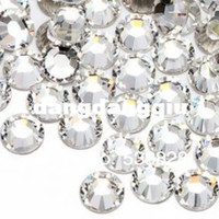Wholesale Wholesaless6 non hotfix flatback nail art decorative crystal glue on glass loose rhinestones