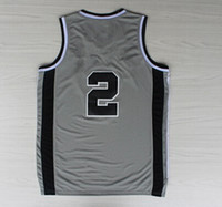 Wholesale 2014 New Basketball Jerseys Jersey Gray Black White Size S XXL Finals Stitched Mix Match Order