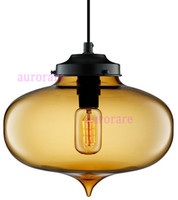Wholesale Dining Room Bar Pendant Lamp The Minaret Modern Crystal Chandelier Italy Modern Glass Pendant Lights Vintage Bulb