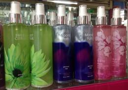 Wholesale Women Mens REFRESHING Perfumes Atomizer BODY SPRAY Body Splash MIST MIX Flavors