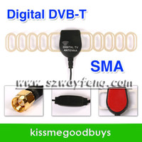 Wholesale SMA Car Digital TV Active Antenna Mobile Car Digital DVB T ISDB T Aerial with a Amplifier Booster