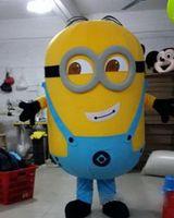 Nouvelle marque Despicable Me Minion dessin animé Costume de Mascotte Adultes Costumes de Personnage de dessin animé costume de mascotte