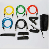 Wholesale NEW PREMIUM RESISTANCE BANDS SET for YOGA ABS GYM WORKOUT