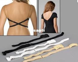 Wholesale New Arrive Color Hot Low Back Backless Adapter Converter Underwear Bra Strap Fully Adjustable Backless Extender Hook