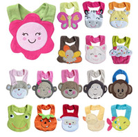 Wholesale baby bibs towels for newborn Burp Cloths colors for choose top quality