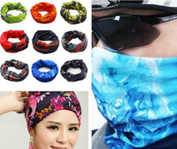 seamless scarf sunscreen - PromotionTop Fashion Multifunctional scarf Outdoor Cycling Seamless bandana Magic multifunctional Turban Sunscreen Hot Hair band Hot Selling