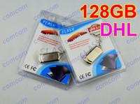 Wholesale 128GB Swivel metal Key USB Flash Drive gb Memory Stick USB2 Pen Drives OEM ODM custom logo Retail package comcom free dhl